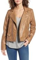 Bernardo Women's Kirwin Faux Leather Moto Jacket