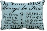 """B. Smith The Vintage House by Park Do Your Best"""" Tapestry Oblong Throw Pillow"""