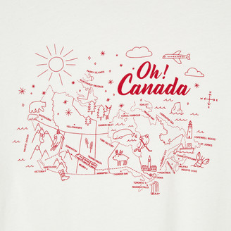 Roots Womens Oh! Canada T-shirt