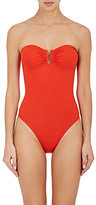 Eres Women's Les Essentiels-Cassiopee Microfiber Bandeau One-Piece Swimsuit-RED