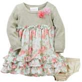 Iris & Ivy Sweater-to-Floral Dress Set (Baby Girls 12-24M)