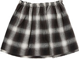Anne Kurris Plaid Flannel Skirt