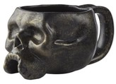 Williams-Sonoma Williams Sonoma Halloween Skull Mugs, Set of 4, Brushed Gold
