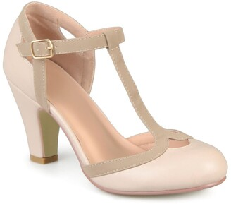 Nude Wide Shoes | Shop the world's