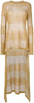 Antonio Berardi high low sweater - women - Polyester/Rayon - 44