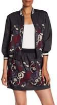 Anna Sui Cross Stitch Emboridery Denim Jacket