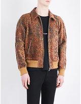 Saint Laurent Textured Brocade Jacket