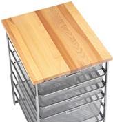 Container Store X-Narrow Butcher Block Top