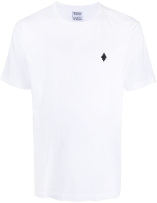 Marcelo Burlon County of Milan embroidered Cross T-shirt