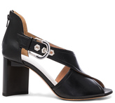 Maison Margiela Leather Buckle Heels