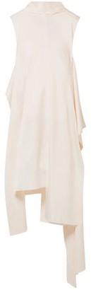 SOLACE London Larin Asymmetric Satin-crepe Dress