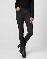 Le Château Wax Coated Denim Skinny Leg Pant