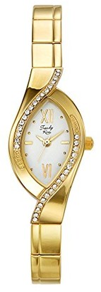 Trendykiss Trendy Kiss tg3747-01-aLadies WatchAnalogue QuartzWhite DialGolden Metal Strap
