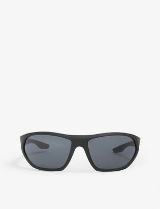 Prada Linea Rossa PS18US 66 Active rectangle frame sunglasses