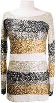 Antik Batik Beige Glitter Dress for Women