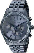 Michael Kors Men's Quartz Stainless Steel Automatic Watch, Color: (Model: MK8480)