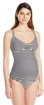 JoJo Maman Bebe Women's Maternity Striped Tankini