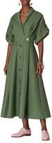 Thumbnail for your product : Carolina Herrera Wide-Sleeve Shirtdress