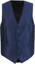 Marks And Spencer 5 Button Textured Waistcoat