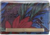 Patricia Nash Blue Forest Cametti Foldover Wallet