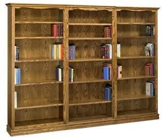 Americana A&E Wood Designs Oversized Library Bookcase A&E Wood Designs Color: Light