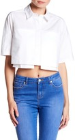 KENDALL + KYLIE Kendall & Kylie Short Sleeve Blouse