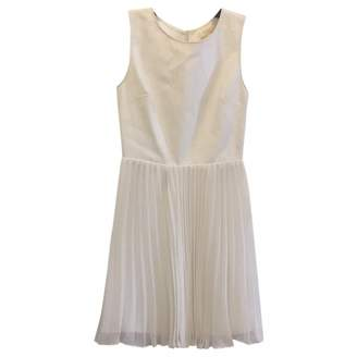 Erin Fetherston White Leather Dress for Women