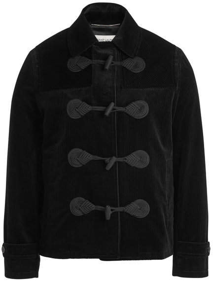 Saint Laurent Corduroy Duffle Jacket