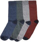 Jack and Jones Men's 4PK Jacsalm Ankle Sock