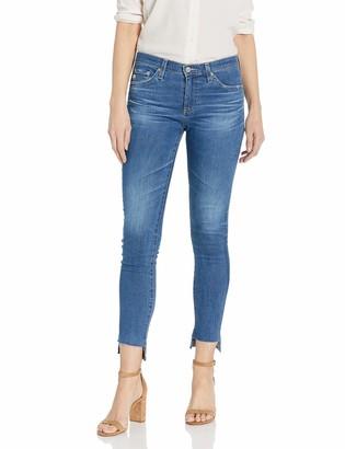 AG Jeans Women's Denim Legging Ankle with Step Hem Pants