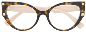 Valentino Eyewear VA3044 cat-eye glasses