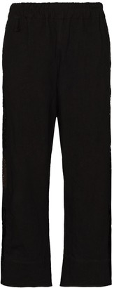 By Walid Jeremy cropped trousers