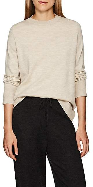 The Row Women's Sebellia Mélange Cashmere Sweater - Lt Beige
