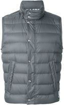 Moncler Gamme Bleu padded gilet - men - Feather Down/Polyamide - 4
