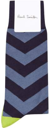 Paul Smith Chevron Stripe Socks