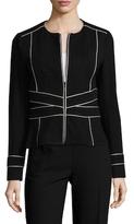 Nanette Lepore Signorina Textured Jacket