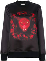Givenchy panther print sweatshirt