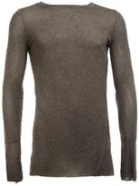 Masnada fitted jumper