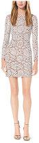 Michael Kors Paillette-Embroidered Lace Dress