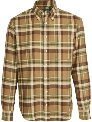 Gitman Brothers Heavy Flannel Country Plaid Shirt