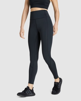 Rockwear - Women's Black Tights - Mantra Curve Seam Full Length Tights - Size One Size, 14 at The Iconic