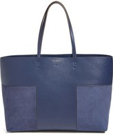 Tory Burch 'Block T' Leather Tote