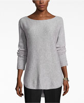 Charter Club Petite Cashmere Boat-Neck High-Low Sweater, Only at Macy's