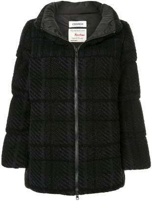 Coohem plaid tweed jacket