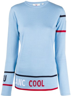 Rossignol Cool graphic intarsia jumper