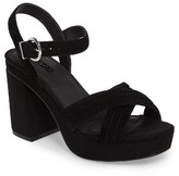 Topshop Women's Ankle Strap Platform Sandal