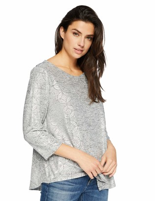Ruby Rd. Women's 3/4 Sleeve Jersey Printed top