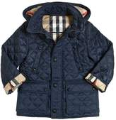 Burberry Hooded Quilted Nylon Puffer Jacket