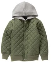Crazy 8 Quilted Bomber Jacket