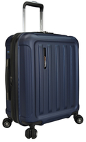 Traveler's Choice Smart USB Port Carry-On Spinner Luggage